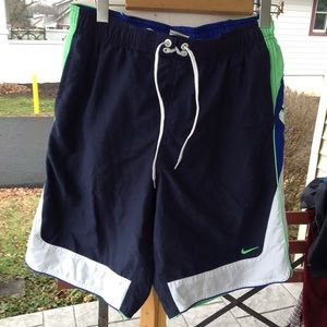 Mens Nike Swim Trunks.